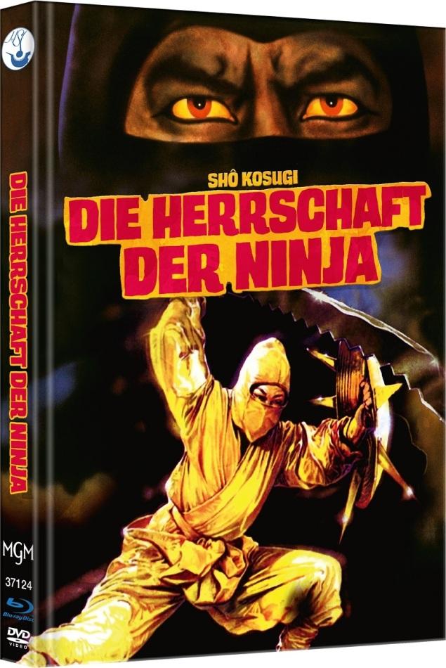 Die Herrschaft der Ninja - Ninja 3 (1984) (Cover C, Edizione Limitata, Mediabook, Blu-ray + DVD)