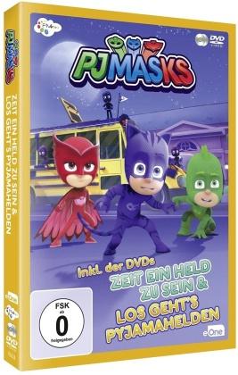 PJ Masks - Zeit ein Held zu sein / Los geht's Pyjamahelden (2 DVD)