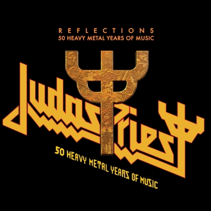 Judas Priest - Reflections - 50 Heavy Metal Years Of Music (Gatefold, Red Vinyl, 2 LP)