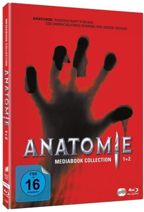Anatomie 1 & 2 (Limited Edition, Mediabook, 2 Blu-rays)