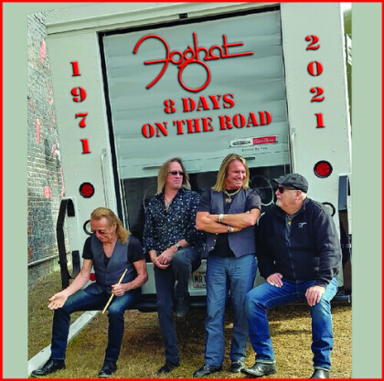 Foghat - 8 Days On The Road (CD + DVD)