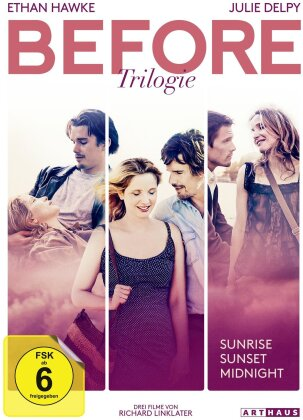 Before Trilogie - Before Sunrise / Before Sunset / Before Midnight (3 DVDs)