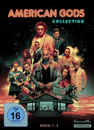 American Gods - Staffel 1-3 (11 DVDs)