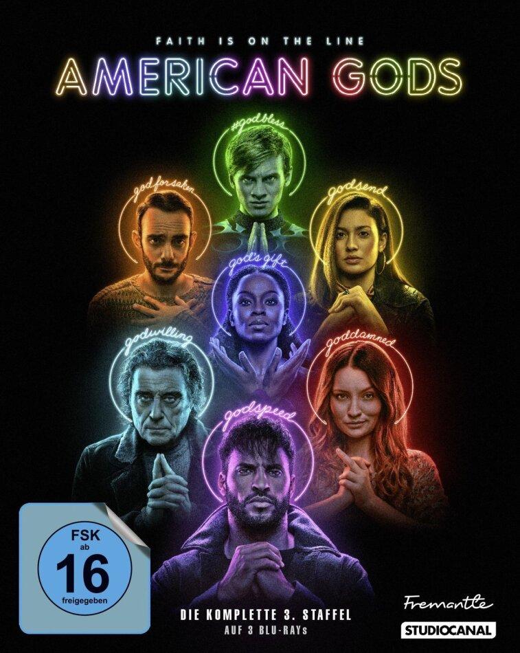 American Gods - Staffel 3 (3 Blu-rays)