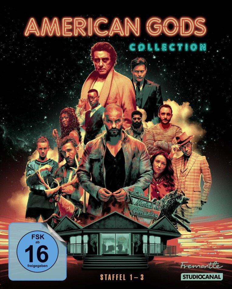 American Gods - Staffel 1-3 (10 Blu-rays)