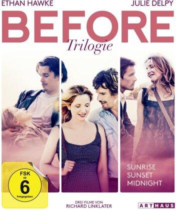Before Trilogie - Before Sunrise / Before Sunset / Before Midnight (3 Blu-rays)