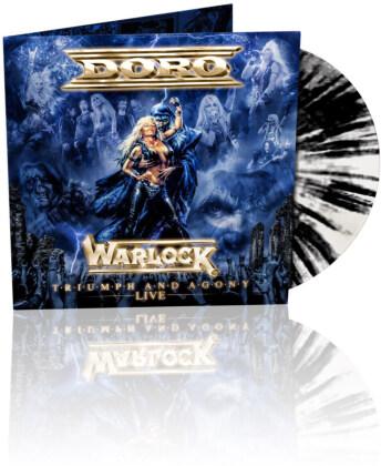 Doro - Warlock - Triumph and Agony Live (Gatefold, Limited Edition, Black & White Vinyl, LP)