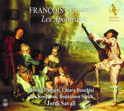 François Couperin Le Grand (1668-1733), Jordi Savall, Bernard Hervé, Monica Huggett, Chiara Banchini, … - Les Apothéoses (2021 Reissue, Hybrid SACD)