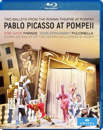Corps de Ballet of the Teatro dell'Opera di Roma - Pablo Picasso at Pompeii - Parade / Pulcinella (Unitel Classica)