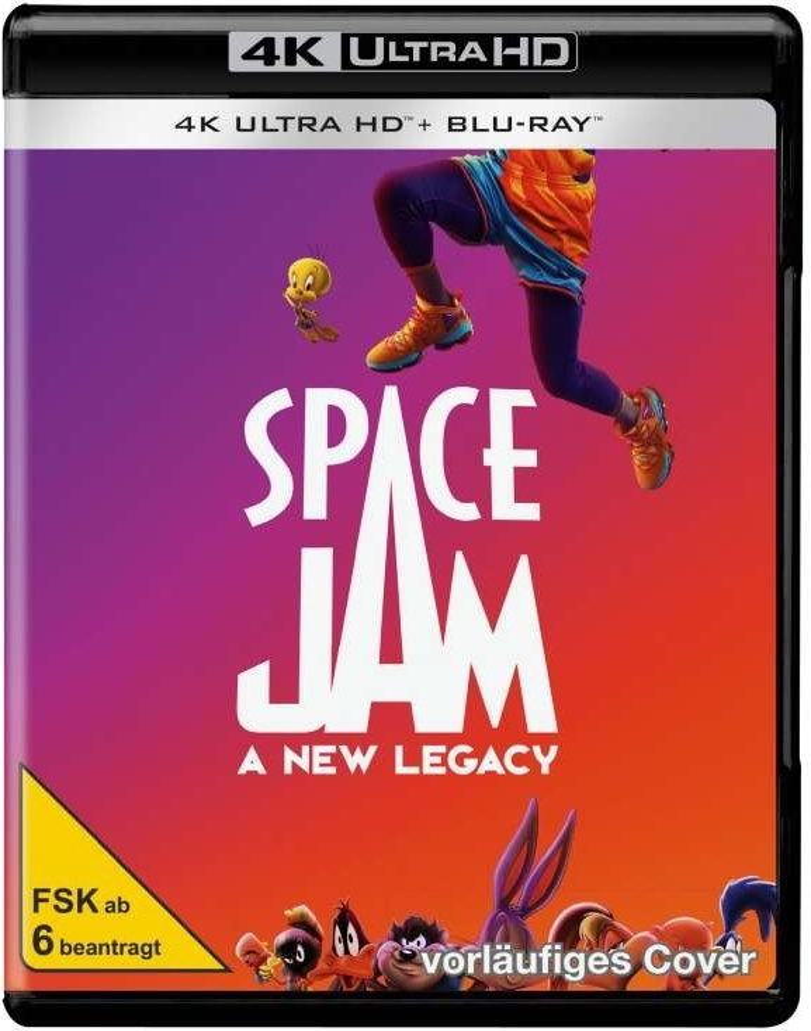 Space Jam 2 - A New Legacy (2021) (4K Ultra HD + Blu-ray)