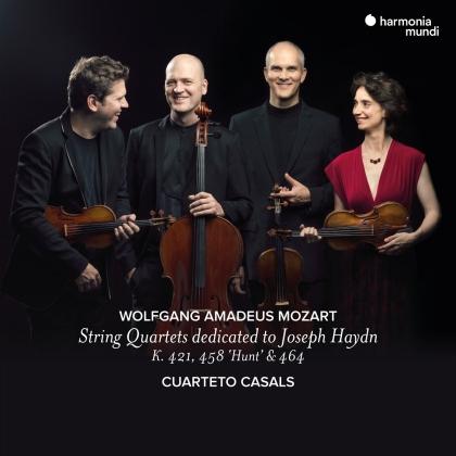 Cuarteto Casals & Wolfgang Amadeus Mozart (1756-1791) - Mozart String Quartets Dedicated To