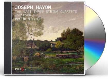 Prazak Quartet & Joseph Haydn (1732-1809) - The Last Three String Quartet