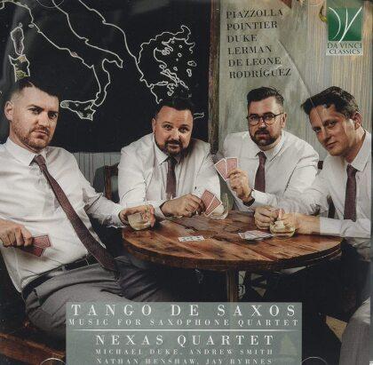 Nexas Quartet - Tango De Saxos: Music For Saxophone Quartet