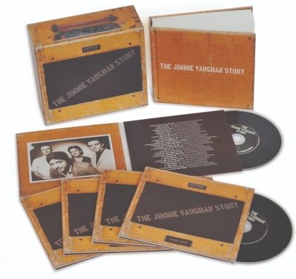 Jimmie Vaughan - Jimmie Vaughan Story (+ Book, Cofanetto, Edizione Limitata, 5 CD)