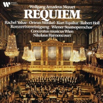 Wolfgang Amadeus Mozart (1756-1791), Nikolaus Harnoncourt & Concentus Musicus Wien - Requiem (2021 Reissue, Warner Classics)