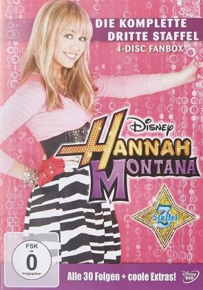 Hannah Montana - Staffel 3 (4 DVDs)