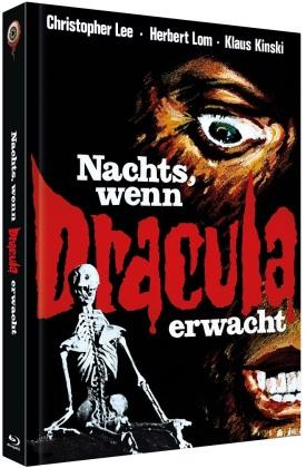 Nachts, wenn Dracula erwacht (1970) (Cover A, Limited Edition, Mediabook, Blu-ray + DVD)