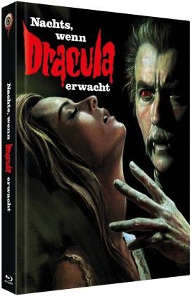Nachts, wenn Dracula erwacht (1970) (Cover B, Limited Edition, Mediabook, Blu-ray + DVD)