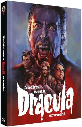 Nachts, wenn Dracula erwacht (1970) (Cover C, Limited Edition, Mediabook, Blu-ray + DVD)