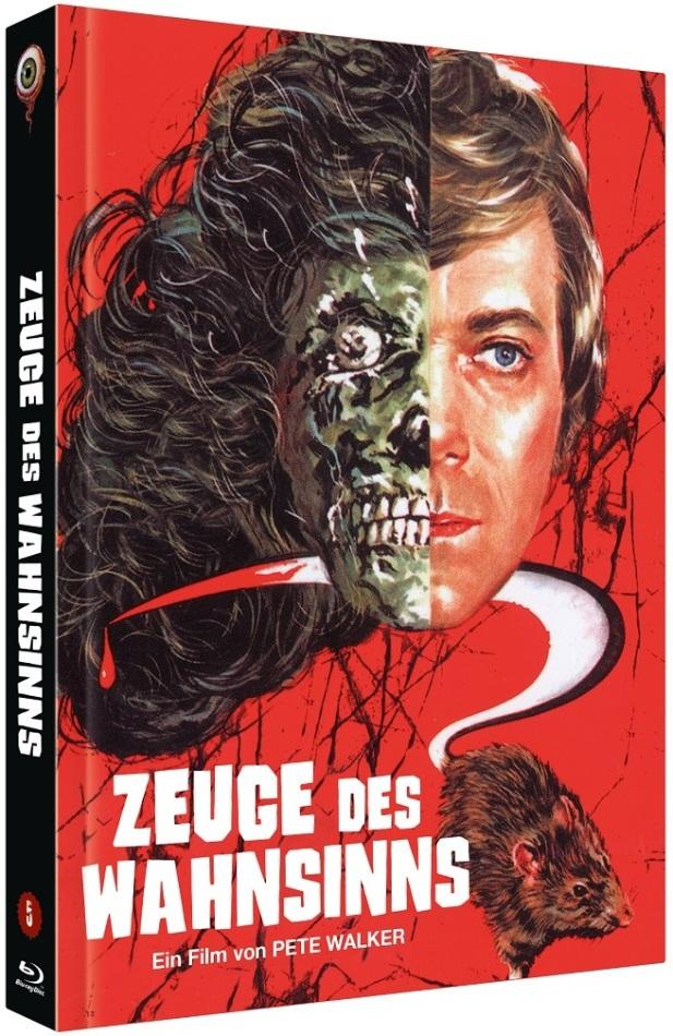 Zeuge des Wahnsinns (1978) (Cover A, Limited Edition, Mediabook, Blu-ray + DVD)
