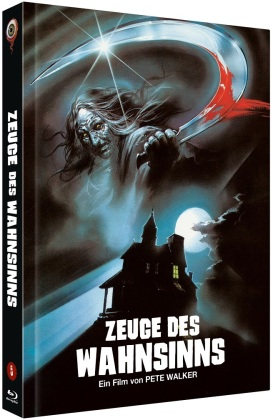 Zeuge des Wahnsinns (1978) (Cover B, Limited Edition, Mediabook, Blu-ray + DVD)
