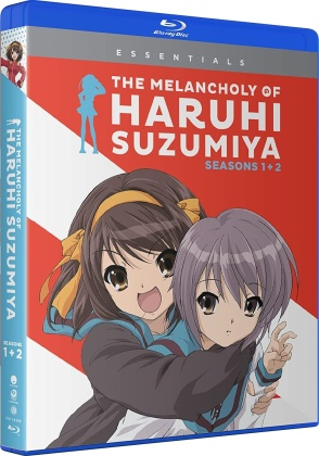 The Melancholy Of Haruhi Suzumiya - Seasons 1&2 (Essentials, 4 Blu-rays)