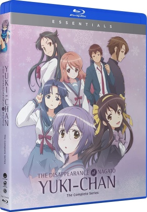 The Disappearance Of Nagato Yuki-Chan - The Complete Series (Essentials, 2 Blu-rays)