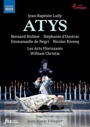 Les Arts Florissants, William Christie, … - Atys (Naxos, 2 DVDs)