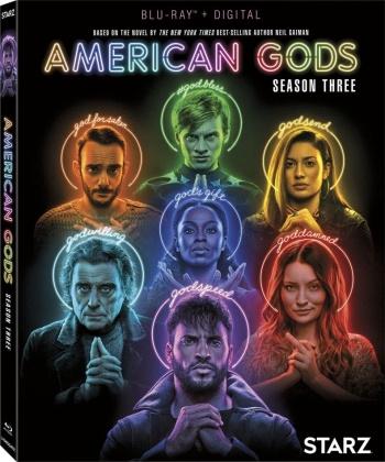 American Gods - Season 3 (3 Blu-rays)