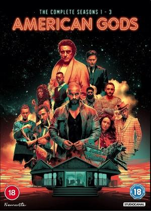 American Gods - Season 1-3 (11 DVDs)