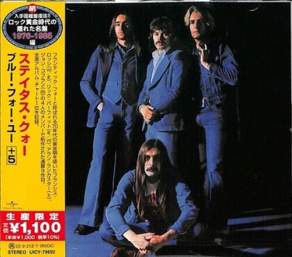 Status Quo - Blue For You (Japan Edition, Limited Edition)