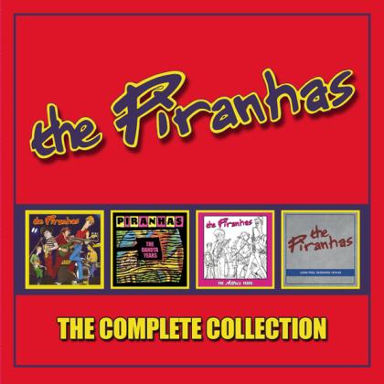 Piranhas - Complete Collection (4 CDs)