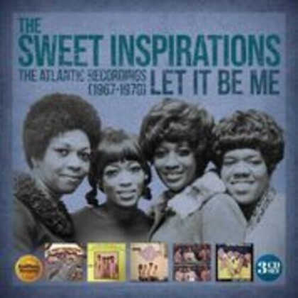 Sweet Inspirations - Let It Be Me: The Atlantic Recordings 1967-1970 (3 CD)