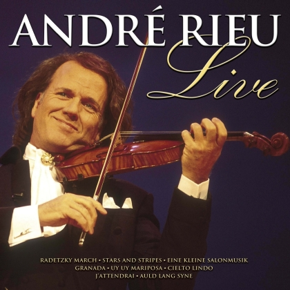 André Rieu - Live - THE MAESTRO OF THE MASSES LIVE IN CONCERT (Music On CD, 2021 Reissue)