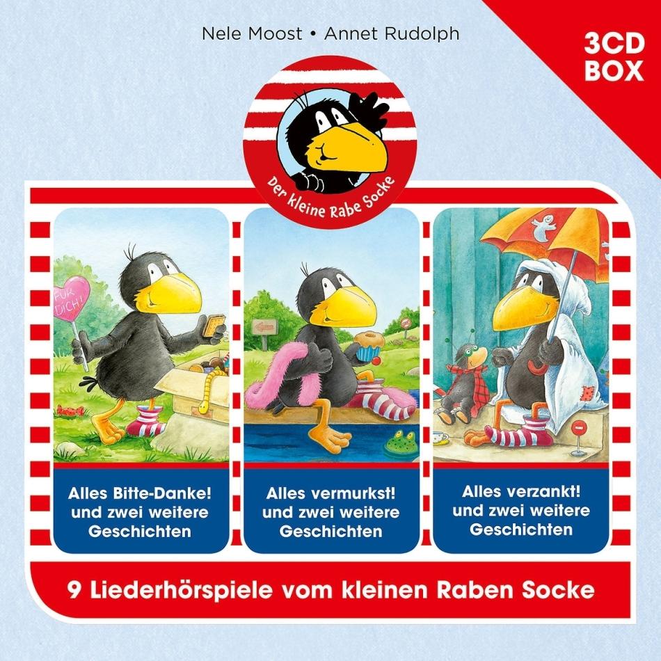 Der Kleine Rabe Socke - Der Kleine Rabe Socke Hörspielbox Vol. 3 (3 CDs)