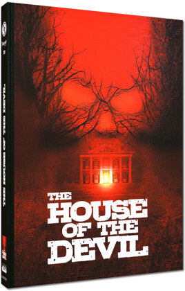 The House of the Devil (2009) (Cover C, Limited Edition, Mediabook, Blu-ray + DVD)
