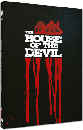 The House of the Devil (2009) (Cover D, Limited Edition, Mediabook, Blu-ray + DVD)