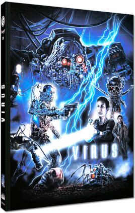 Virus (1999) (Cover A, Limited Edition, Mediabook, Blu-ray + DVD)