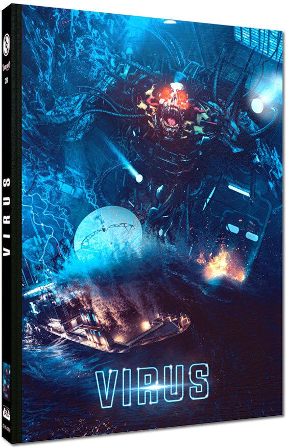 Virus (1999) (Cover B, Edizione Limitata, Mediabook, Blu-ray + DVD)