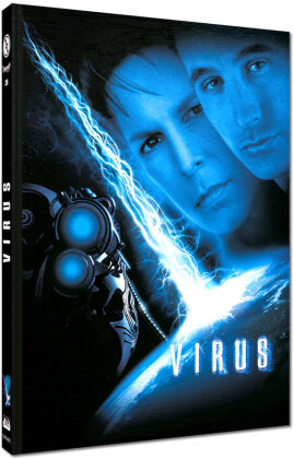 Virus (1999) (Cover C, Limited Edition, Mediabook, Blu-ray + DVD)