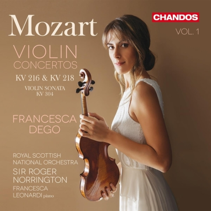 Wolfgang Amadeus Mozart (1756-1791), Sir Roger Norrington, Francesca Dego & Royal Scottish National Orchestra - Violin Concertos 1