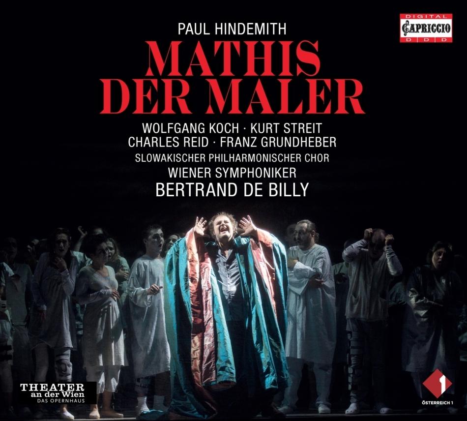 Wiener Symphoniker, Paul Hindemith (1895-1963), Bertrand de Billy & Wolfgang Koch - Mathis Der Maler - 2012 Theater an der Wien (3 CDs)