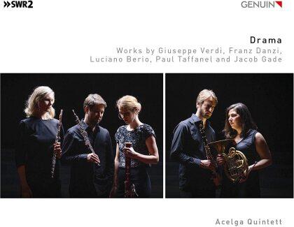 Acelga Quintet, Luciano Berio (1925-2003), Franz Danzi (1763-1826), Jacob Gade, Claude-Paul Taffanel, … - Drama