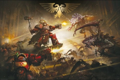 Warhammer 40K: The Battle of Baal - Maxi Poster