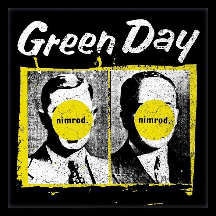 """Green Day: Nimrod - 12"""" Album Cover Framed Print"""