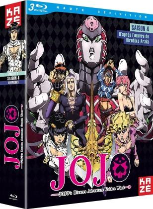 JoJo's Bizarre Adventure - Saison 4 - Partie 2 : Golden Wind (3 Blu-rays)