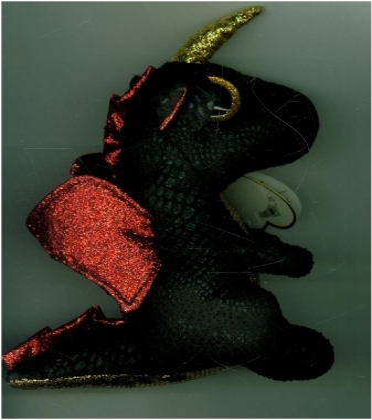 TY Beanie Boo regular 15 cm Grindal Dragon with Horn