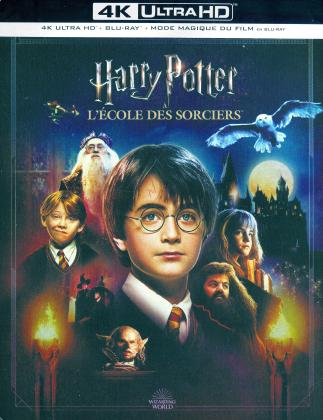 Harry Potter à l'école des sorciers (2001) (Magical Movie Mode, Kinoversion, Limited Edition, Langfassung, Steelbook, 4K Ultra HD + 2 Blu-rays)