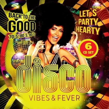Disco Vibes & Fever / 70s, 80s & 90s (6 CD)