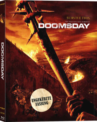 Doomsday (2008) (Keep Case, Limited Edition, Uncut)